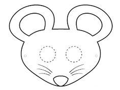 masque de lapin a colorier pdf kleurplaten pinterest. Black Bedroom Furniture Sets. Home Design Ideas