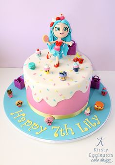 Jessicake Themed Shopkins Birthday Cake by Kirsty Eggleston Cake Design