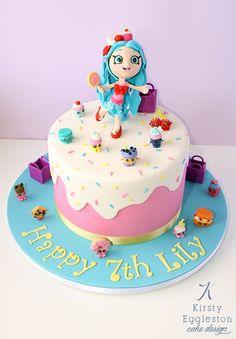 Jessicake Themed Shopkins Birthday Cake by Kirsty Eggleston Cake Design