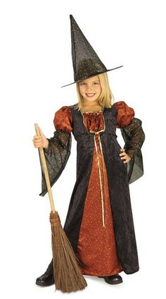 HALLOWEEN SALE 90% off Glitter Witch Kids Costume - AThriftyMom