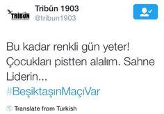 Sahne Beşiktaş'ın !