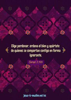 #perdón #Moralejas #Corán Islam, Quran Verses, Hadith, Forgiveness, God, Manners, Spirituality, Celestial, Memes