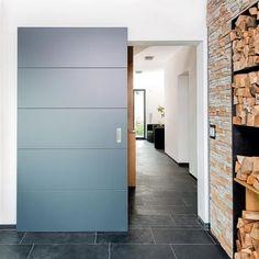 Bod'or schuifdeur - Model Cube GV40 - Schuifdeursysteem UC Doors sliding (alle techniek is in open en gesloten toestand onzichtbaar):