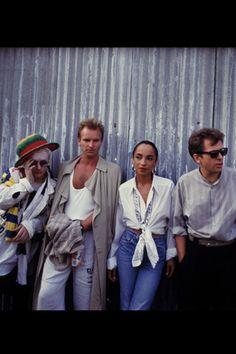 Boy George, Sting, Sade & Peter Gabriel
