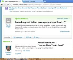 Art of Trolling - Yahoo Answer Fails - Page 3 - Trolls on Chatroulette and Yahoo! Answers - internet troll - Cheezburger