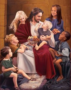 old Adventist pictures of Jesus and children - Yahoo Image Search Results Christian Pictures, Christian Artwork, Jesus Art, Jesus Is Lord, Pictures Of Jesus Christ, Saint Esprit, Jesus Painting, Prophetic Art, Kirchen