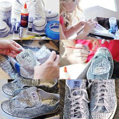 Diy converse shoes upcycle