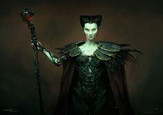Check out some early concepts of Rita Repulsa from the Powers Rangers film created by Weta Workshop concept artist Andrew Baker!