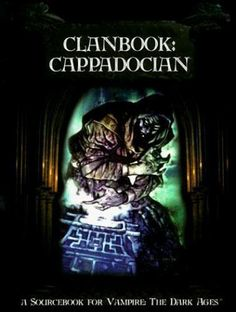 Clanbook Cappadocian Vampire the Dark Ages Justin Achilli Good Book Good Books, My Books, Wolf World, World Of Darkness, White Wolf, Book Cover Art, Shadowrun, Dark Ages, World Of Warcraft