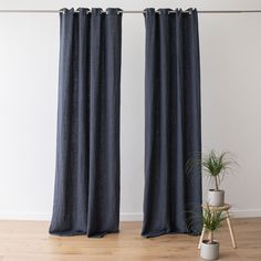 Every room needs the perfect set of curtains to finish off its look. Our Terra linen curtains come in a choice of 8 elegant colours and will add a natural, easy-going charm to your home. Blue Curtains, Grommet Curtains, Linen Curtains, Curtain Fabric, Linen Bedroom, Bath Linens, Kitchen Linens, Table Linens, Sweet Home
