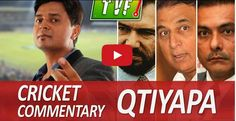 TVF Live Show - Vipul Goyal on Cricket Commentary Qtiyapa Most Viral Videos, Show Video, Live Show, Movie Trailers, Latest Video, Cricket, Comedy, Entertaining, Humor