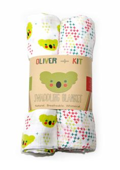 Signature   2-count Duo   Muslin Swaddle Blankets