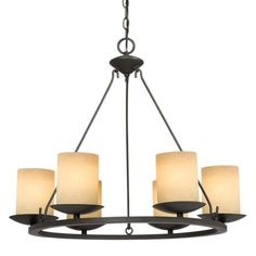 This Six Light Candle Chandelier has a Bronze Finish and is part of the Pascali Collection. Description from mcinnislighting.com. I searched for this on bing.com/images
