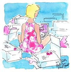 Go ahead...treat yourself. #lilly5x5 #lillyonlinesale