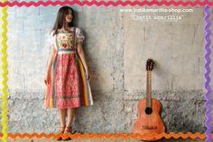 when Indonesia's Traditional textile AKA Ikat Indonesia meets Hungarian folk embroidery  www.batikamarillis-shop.com