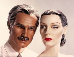 Adel Rootstein changed the Face of the Mannequin  To read the full article, click here... http://blog.mannequinmadness.com/2014/10/adel-rootstein-changed-the-face-of-the-mannequin/
