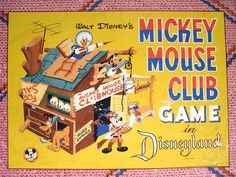 MIckey Mouse Club Game