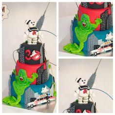 Ghostbusters cake by Ke Magdalenas