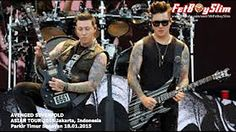 A7X AVENGED SEVENFOLD - A LITTLE PIECE OF HEAVEN live in Jakarta, Indonesia 2015 - YouTube