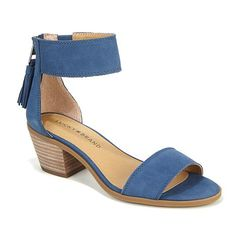 Lucky Brand Batima Leather Block-Heel Sandal (like the style, not the color)
