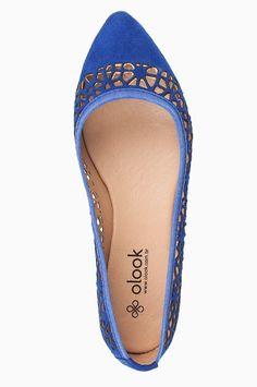 Sapatilha Recortes Tribais Azul - Roupas e Sapatos Femininos | Olook