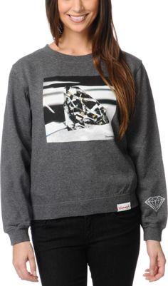 Diamond Supply Co. Brilliant Glass Sweatshirt