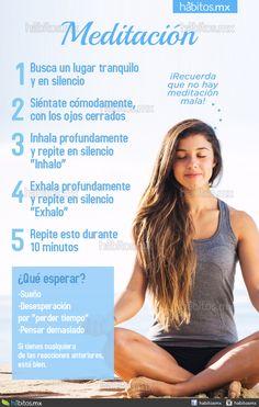 Meditación básica – Hábitos Health Coaching Yin Yoga, Yoga Kundalini, Hatha Yoga, Meditation Exercises, Meditation Practices, Mindfulness Meditation, Yoga Gym, Yoga Fitness, Health Fitness