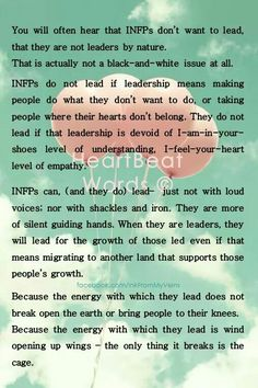 #INFP