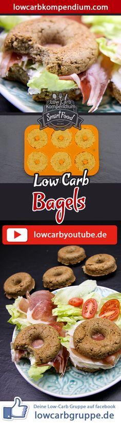 (Low Carb Kompendium) – Bagels haben mittlerweile auch in Deutschland einen Kultstatus erreicht – ein Brötchen in Donutform und mit leckerem Sesam bestreut In diesem Rezept zeigen wir dir wie du einen appetitlichen Low-Carb Bagel zubereitest, den du dir ganz nach Geschmack bestreichen und belegen kannst. Und nun wünschen wir dir viel Spaß beim Nachkochen, LG Andy & Diana.