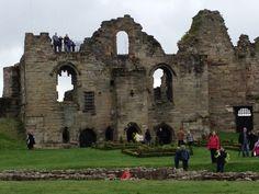 Tutbury Castle in Tutbury, Staffordshire