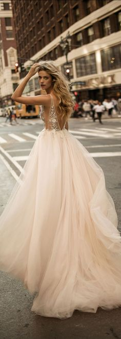 Soft, dreamy and so romantic - the texture of this @bertabridal wedding dress takes our breath away every single time!