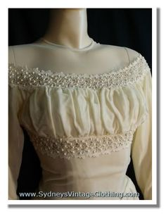 Vintage Wedding Dress, Bridal Gowns, 30s Wedding Dresses