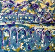 "Saatchi Art Artist Concha Flores Vay; Painting, ""LOCOMOTORA"" #art"
