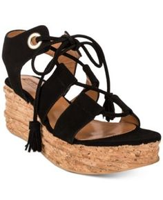 da55c03562c Andre Assous Brigitte Platform Espadrille Sandals - Tan Beige 10M