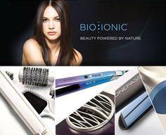 Con gli strumenti Bio Ionic non esiste stile impossibile e in più i capelli sono sempre idratati e in salute! Spazzole, phon e piastre con l'esclusiva tecnologia dei 32 minerali per trasformare il servizio piega in una vera PIEGA BENESSERE.