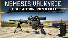 Concealable Backpack Precision Sniper Rifle | Multi-caliber,  Ambidextro...
