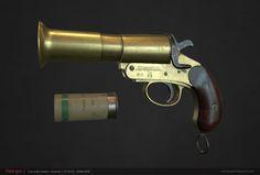 ArtStation - Flare gun, Nam Nguyen