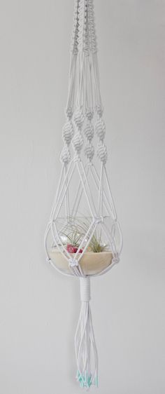 Macrame Hanger by studioraw on Etsy