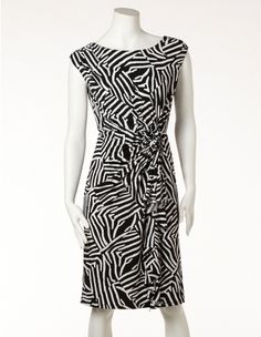 CLEO Zebra Side Rosette Dress - don't have this one but if they had it at the location I was at I'm sure I would have picked it up its now $74.00 http://www.cleo.ca/clearance/zebra-side-rosette-dress/prod1214A660.html?previousCat=finalclearance