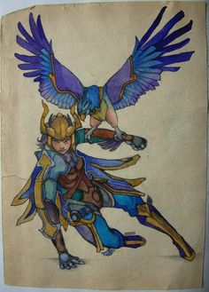 Quinn and Valor by 25Nanao16 on DeviantArt