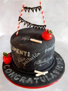 Teacher Retirement Cake Foreign Language Teacher