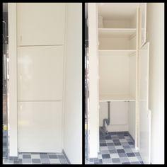 Wasmachine kast | Badkamer | Pinterest