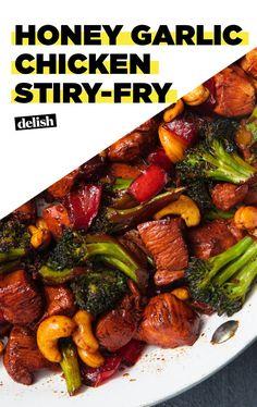 Honey Garlic Chicken Stir Fry Is Perfect With RiceDelish