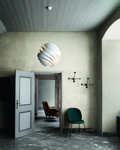Gubi // Matégot Coatrack, GamFratesi Beetle Chair and Louis Weisdorf Turbo Lamp