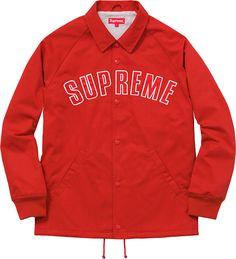 Supreme Twill Coaches Jacket