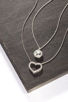 Love at first sight #Saks #accessories #jewelry #necklace