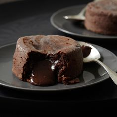 Molten Chocolate Cakes Recipe - Jean-Georges Vongerichten | Food & Wine Sub butter/chocolate