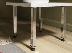 Element System Möbelfuß  (Breite: 25 mm, Länge: 10 cm) Bauhaus