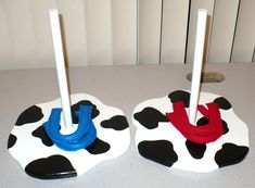 Handmade Horse Shoe Game Toy Story or Western Party Set