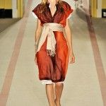 london-fashion-week-spring-summer-2009-paul-smith-red-dress